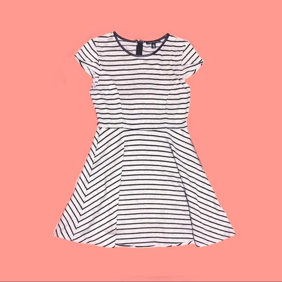 City Triangles Dresses & Skirts - City Triangles Grey Black Striped Dress